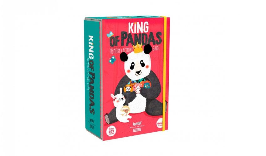 King of Pandas Memory & Action game LONDJI