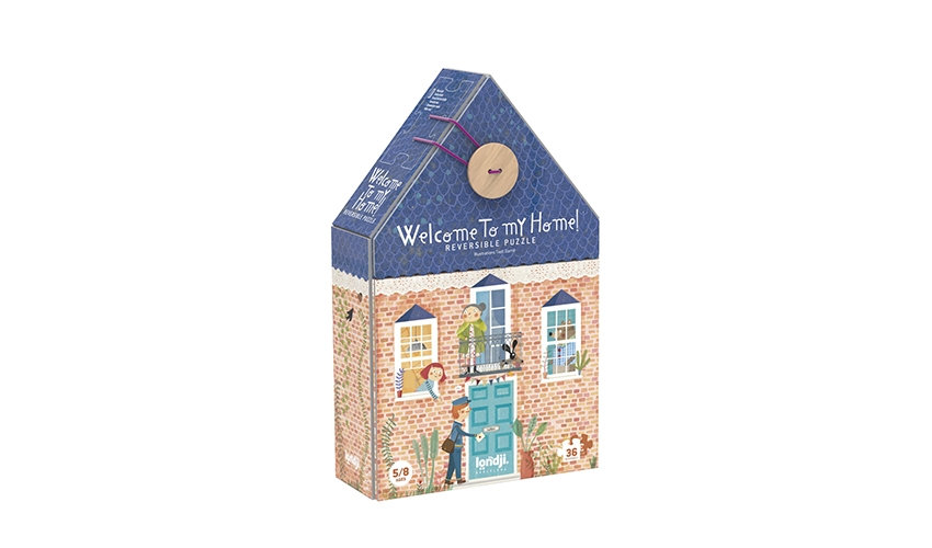 Welcome To My Home Reversible Puzzle