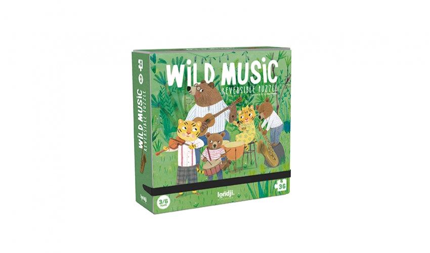 Wild Music Reversible Puzzle