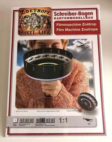 Filmmaschine Zoetrop by SCHREIBER-BOGEN