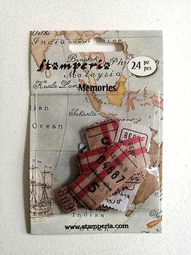 Etiquetas Vintage STAMPERIA