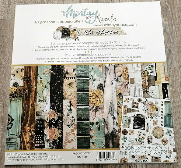 Kit Scrap MINTAY Life Stories