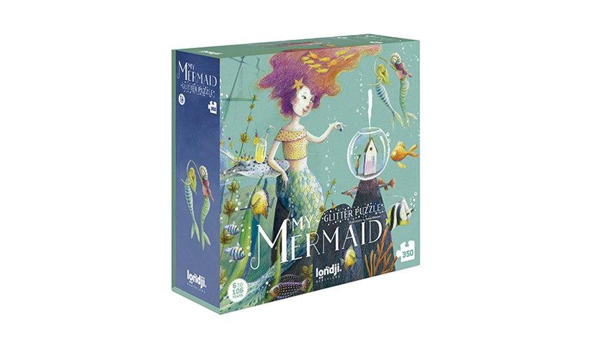 My Mermaid Glitter Puzzle