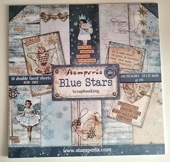 Kit Scrap Blue Stars