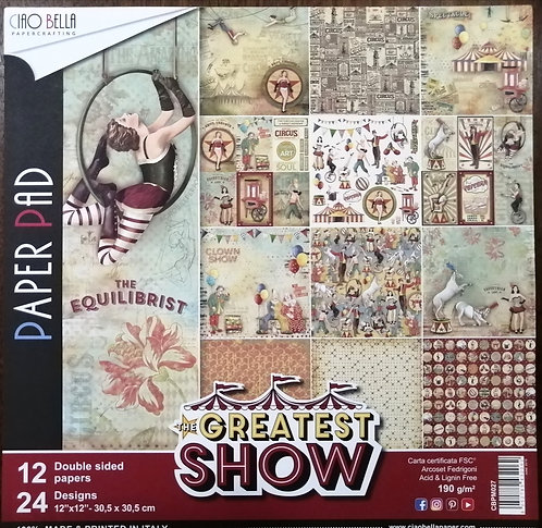 Kit de Scrap CIAO BELLA The Greatest Show
