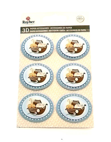 Stickers 3D RAYHER