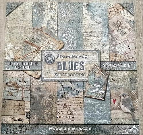 Kit de Scrap STAMPERIA Blues