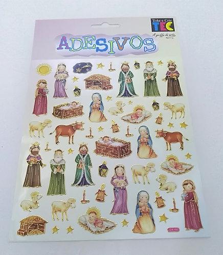 Stickers Figuras de Presépio