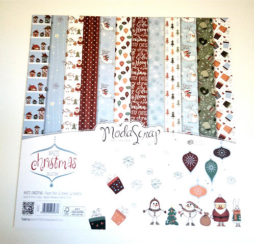 Conjunto Scrap White Christmas