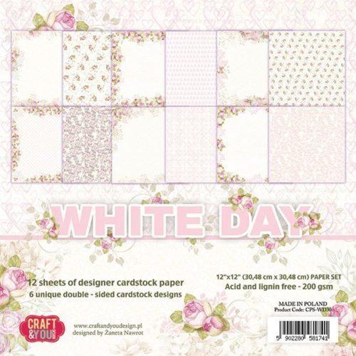 Kit para Scrapbooking White Day