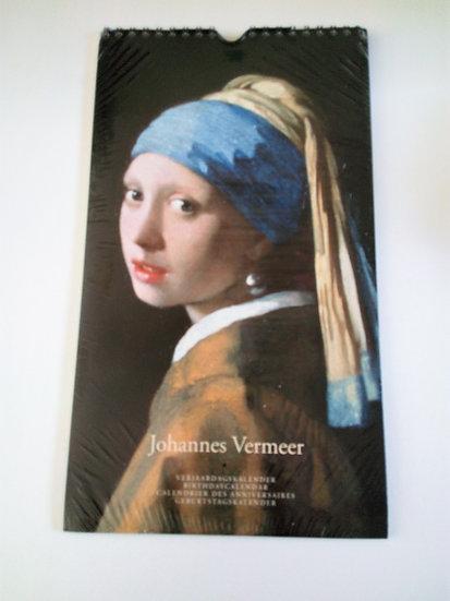 Calendário de Aniversários Vermeer
