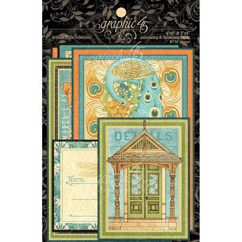 Cartões Graphic 45 Artisan Style Collection
