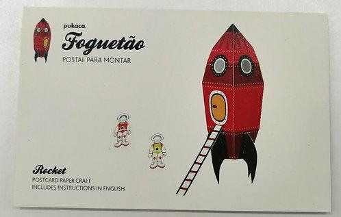 Postal Foguetão PUKACA