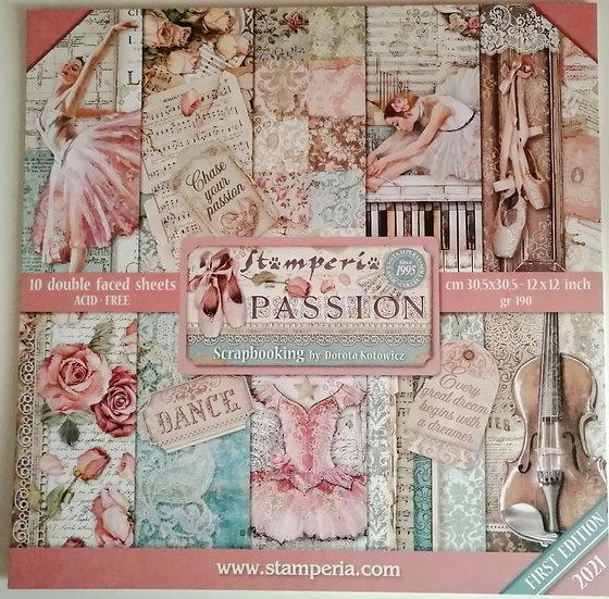 Kit Scrap STAMPERIA  Passion