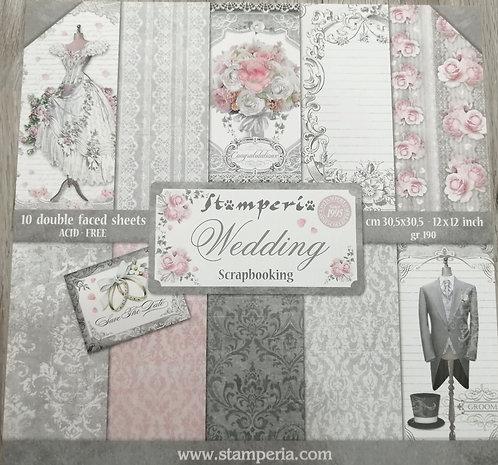 Kit de Scrap STAMPERIA Wedding