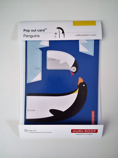 Pop Out Card Penguins