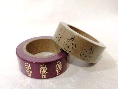 Conj. 2 Washi Tapes