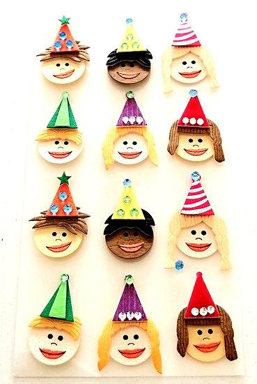 Stickers 3 D Handmade by ARTOZ