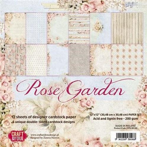 Kit para Scrapbooking Rose Garden