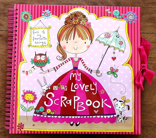 Caderno My Lovely Scrap Book