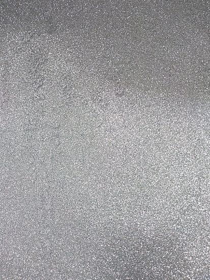 Cartolina Glitter Prata