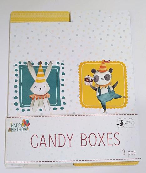 Candy Boxes PIATEK Happy Birthday