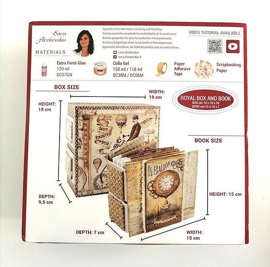 Kit de Cartonagem Royal Box and Book