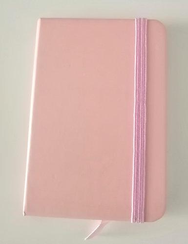 Caderno A7 rosa