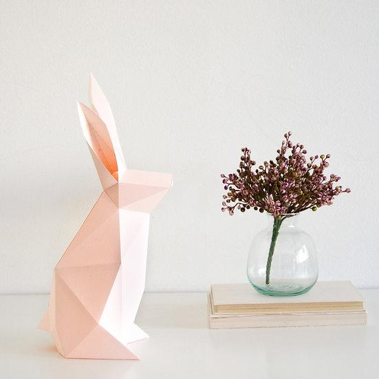 Papercraft Kit Rabbi Cotton Soft Pink