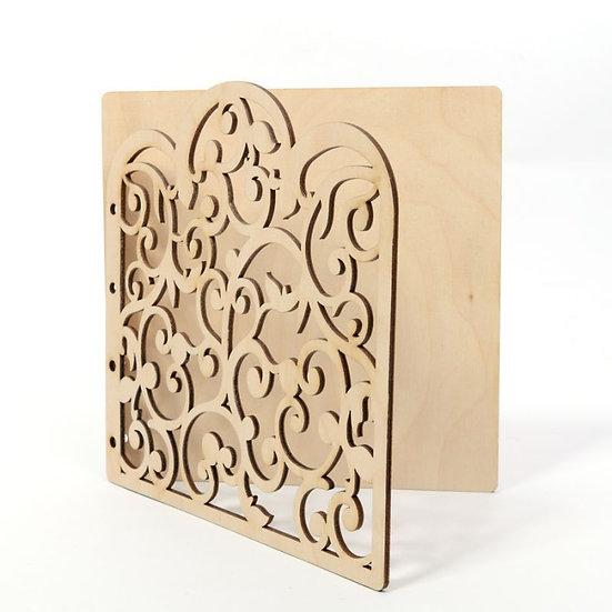 Kit de Álbum madeira