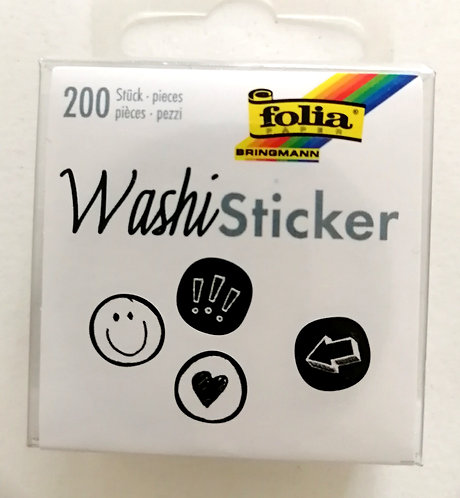 Washi Stiker FOLIA