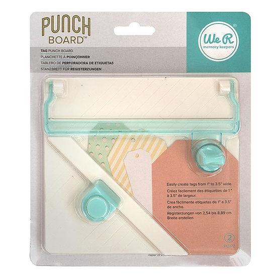 Tag Punch Board WeR