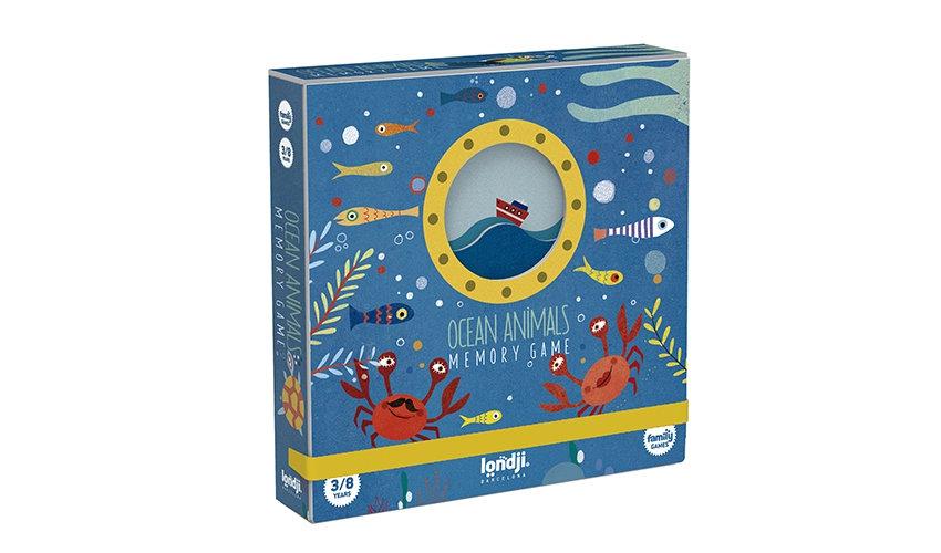 Ocean Animals Memory Game