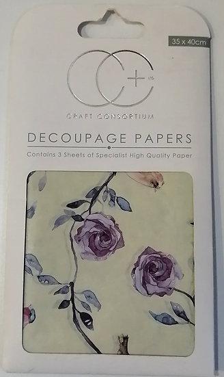 Papel Decoupage