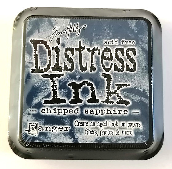 Almofada Distress Ink by Tim Holtz Chipped Sapphire