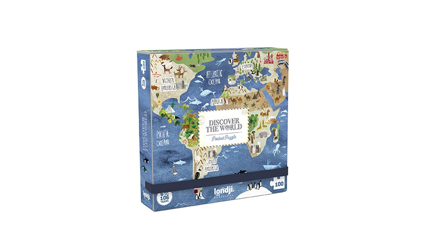 Discover the World Pocket Puzzle LONDJI