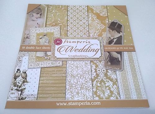 Kit Scrap Wedding STAMPERIA