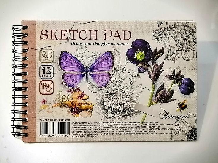 Caderno Sketch Pad A5