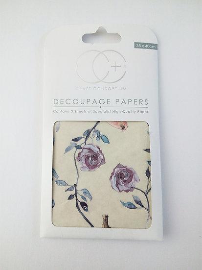 Decoupage Paper