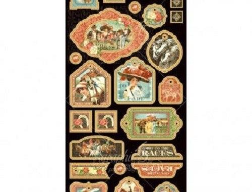 Etiquetas GRAPHIC 45 Races Collection