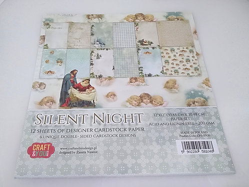 Kit Scrap Silent Night CRAFT & YOU