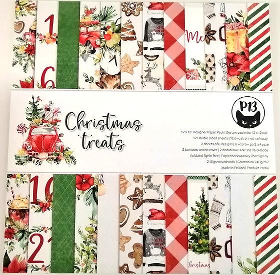 Bloco Scrap Christmas Treats