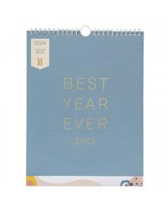 Busy Life Calendar 2021