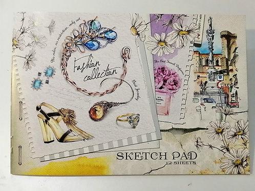 Caderno Sketch Pad A4