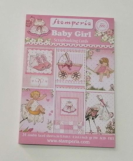 Cartões STAMPERIA Baby Girl
