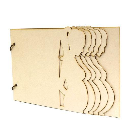 Kit Álbum madeira