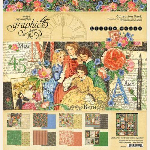 Kit Scrap GRAPHIC45 Little Women