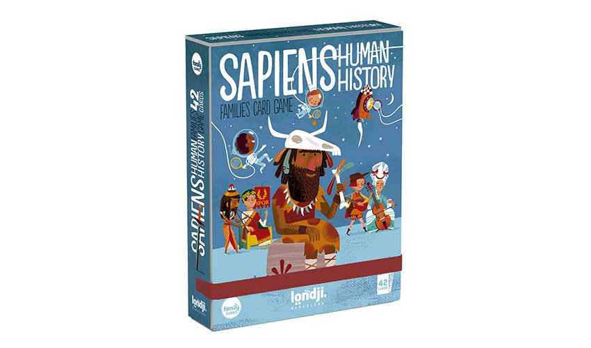 Sapiens Human History Family Cards LONDJI