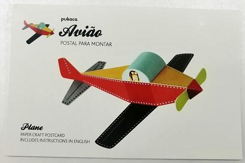 Postal Avião PUKACA