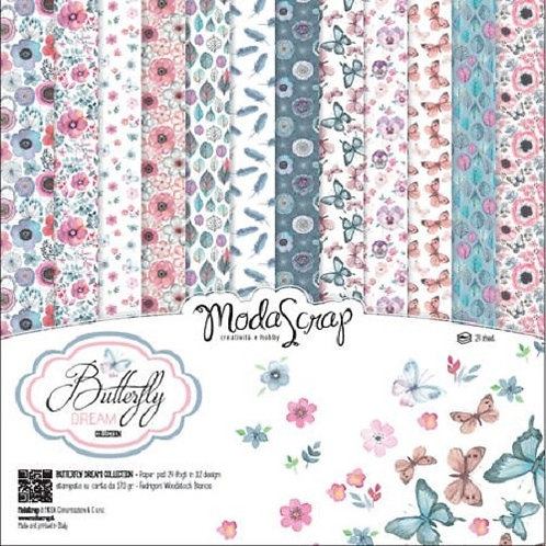 Kit para Scrapbooking Butterfly